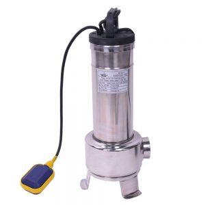 Pompe submersible en acier inoxydable avec flotteur 1,5kW