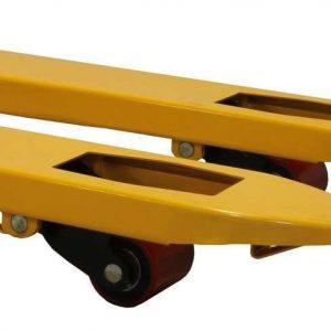 Transpalette 2000kg roue avant simple 115cm