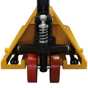 Transpalette 2500kg double roue avant 115cm