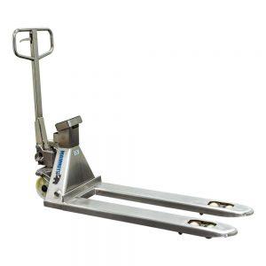 Transpalette avec balance en acier inoxydable 2500kg 115cm