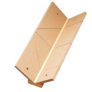 Boîte à coupe forme V 550 x 155 x 220 mm