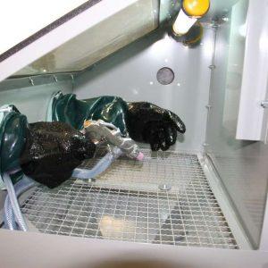 Armoire de sablage 110 litres