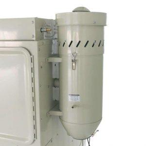 Armoire de sablage 420ltr avec couvercle avant et 2 portes latérales