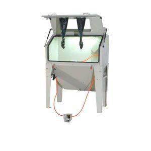 Armoire de sablage 420ltr avec couvercle avant