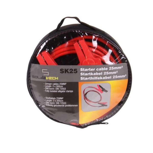 Câbles de démarrage 25mm2