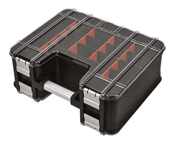 TOOD Space mallette double face Alu, 39x32x16cm, fermeture alu