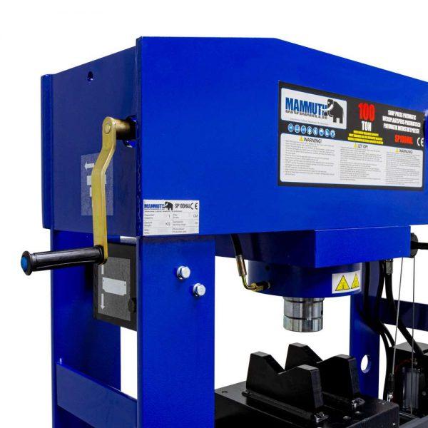 Presse d'atelier air hydraulique 100 tonnes