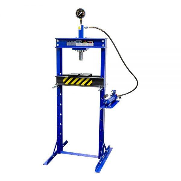 Presse d'atelier manuelle hydraulique 12 tonnes