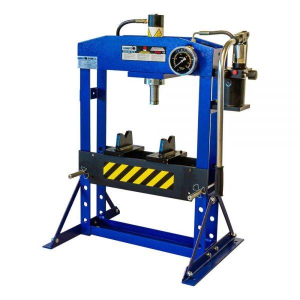 Presse d'atelier manuelle hydraulique 15 tonnes