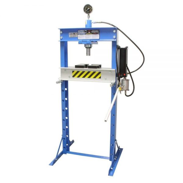 Presse d'atelier air hydraulique 20 tonnes
