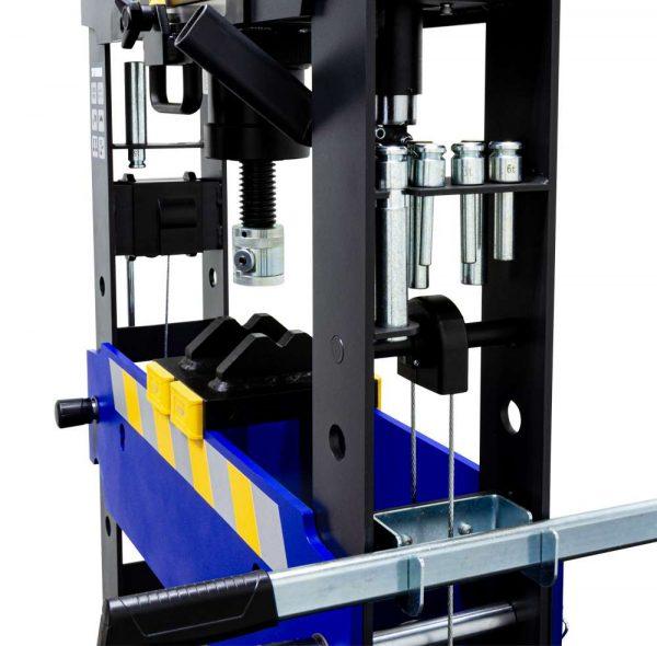 Presse pneumatique d'atelier hydraulique avec pédale 30 tonnes