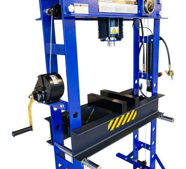 Presse d'atelier air hydraulique 45 tonnes