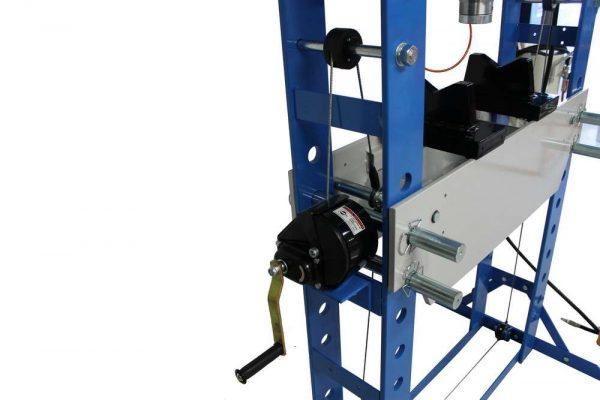 Presse d'atelier air hydraulique 75 tonnes