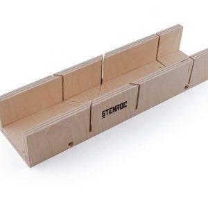 Boîte à onglet en bouleau multiplex –  300 x 57 x 40 mm