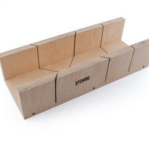 Boîte à onglet en bouleau multiplex –  350 x 100 x 67 mm