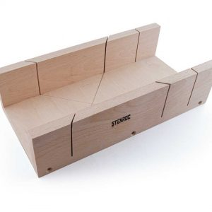 Boîte à onglet en bois hêtre –  350 x 140 x 70 mm
