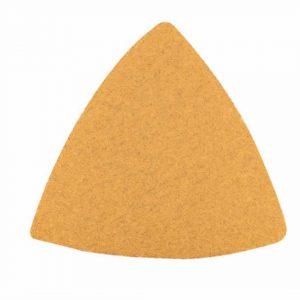 Feuilles abrasives P120 pour patin 80×80 mm / emballé par 10 pcs