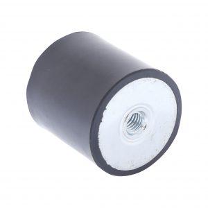 Amortisseur de vibrations filetage femelle 40 x 40mm M8