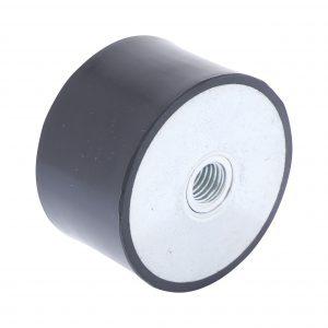 Amortisseur de vibrations filetage femelle 60 x 35mm M12