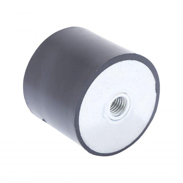 Amortisseur de vibrations filetage femelle 60 x 50mm M12