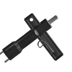 Accessoires pour lampes de chantier – clé – par 3 pcs