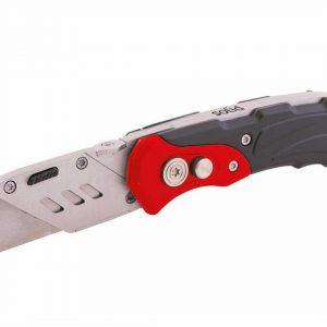 Couteau de sécurité modèle pliable avec clips ceinture